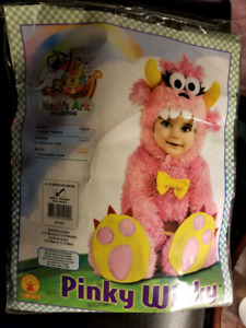 6-12 Month Pink Monster Costume