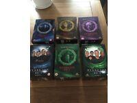 Stargate SG1 TV Box Sets, Full seasons 1,2,3- 5,6,7.
