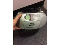 Phillips portable radio/cd/cassette player