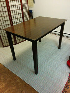Counter-Height Dining Table With Butterfly Leaf