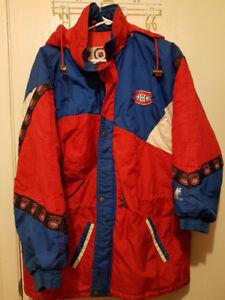 Vintage Montreal Canadiens NHL Hockey Winter Jacket Newface