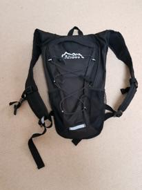 Andes 8 litre rucksack in black