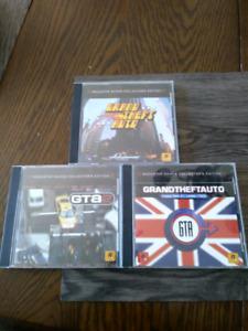 Grand theft auto original, London & GTA 2