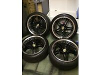 "18"" wolfrace alloys stud pattern 114.3"