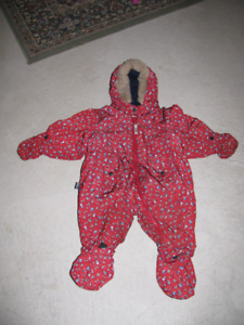 Vêtements et bottes d'hiver 12 - 18mois