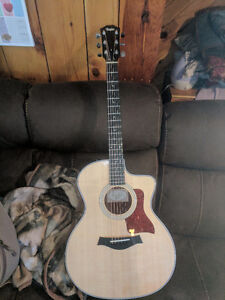 Acoustic electric guitars forsale. Taylor and takamine