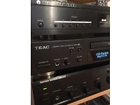 Teac Hifi separate CD player with usb recording mint condition