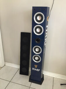 Craig Tower Speaker w/ FM Radio Tuner [Harp Lager branded]
