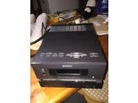 Sony stereo with speakers remote and box