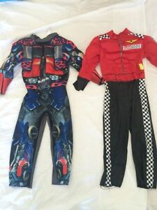 Halloween Costumes - Optimus Prime and Race Car Driver Cambridge Kitchener Area image 1