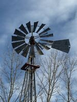 WINDMILL and Tower for sale for Waterwell and farm livestock