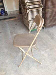 Fold flat chairs