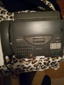 Digital fax and answering machine