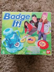 Badge It - Badge Maker Machine by Bandai