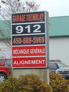 garage mécanique général alignement et plus