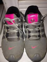 Girls size 1 Nike Shox running shoes