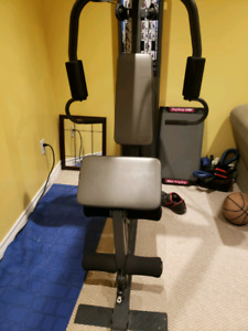 Awesome barely used universal gym