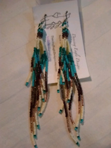First Nations Beaded earrings