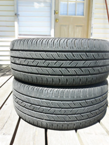 Selling 2 continental contipro contacts. 225/45r17