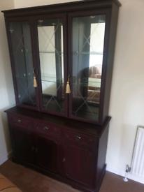 Glass display unit & sideboard