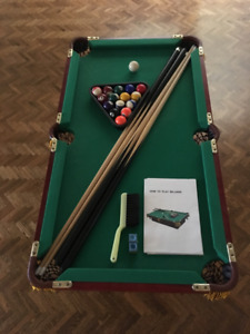 Mini Pool Table from Lee Valley