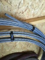 """1/2"""" steel cable"""
