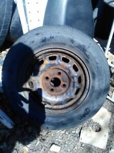 Several  tires  185/70/13 on rims,,2-235/55/17