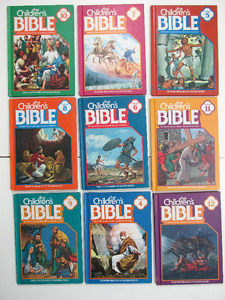 The Children's Bible Stories Illustrated Books Hardcover $2.00