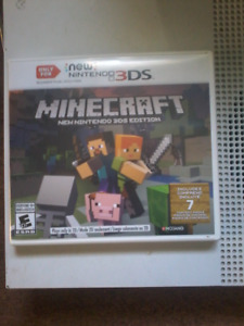 Minecraft new 3ds 20 obo