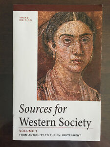 John Abbott CEGEP - Sources for Western Society Volume 1 & 2 West Island Greater Montréal image 1