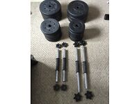 47.5KG Dumbbell weight plates with handles