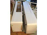 4ft small double divan bed base with draws FREE