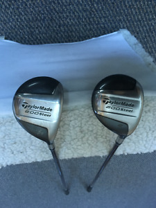 Taylor Made 200 Steel - 3 & 5 wood