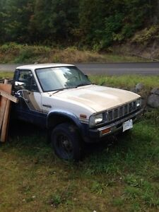 Toyota pickup gear driven transfer case and 4spd trans