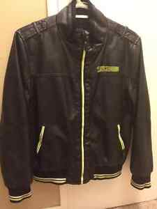 Boy's size 12 winter suit and leather jacket London Ontario image 1