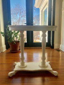 Custom Shabby Chic Accent Table