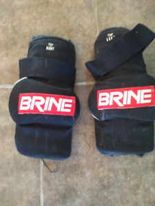 Brine lacrosse elbow guards