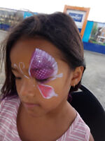 Face Painting and Glitter Tattoo for 1 1/2 Hour for only $140