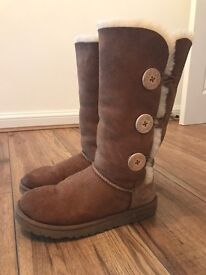 Genuine Ugg Bailey Button Boots