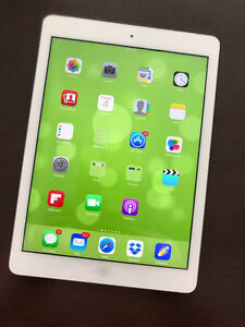 Apple iPad Air white - 16GB Wi-Fi and LTE cellular