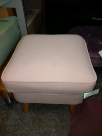 Footstool only £35. RBW Clearance Outlet Leicester City Centre