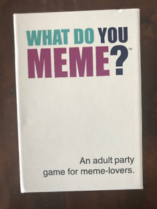 What Do You Meme, Party Game