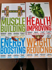 Men's Health recipe books