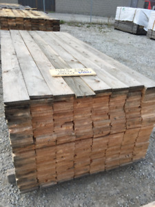 1x6x8 SPRUCE BOARDS- LUMBER CLEAROUT