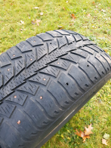 Winter tires studded 225/60 16""