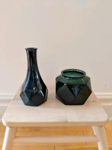 Lots de 16 vases décoratifs (2$/vase)