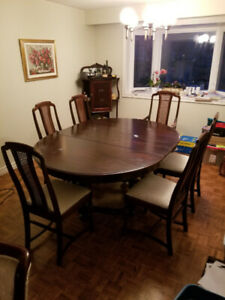 Antique Dining Furniture Set  (early 1900's)