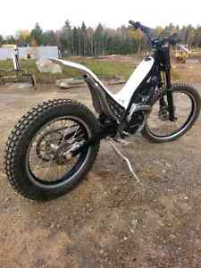09 SHERCO 290T TRIALS BIKE. Will trade for 250 2 stroke MX bike.