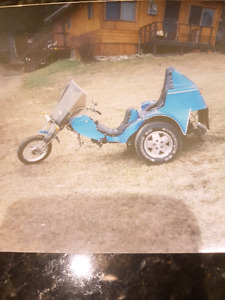 Wanted my fathers old harley trike