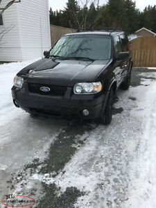2006 Ford Escape FOR PARTS OR REPAIR!!!!